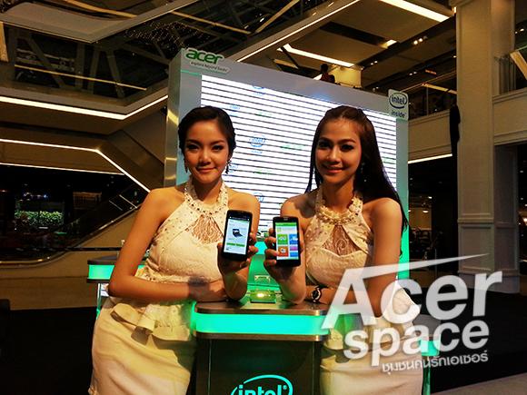 งานเปิดตัว และพรีวิว Acer Liquid