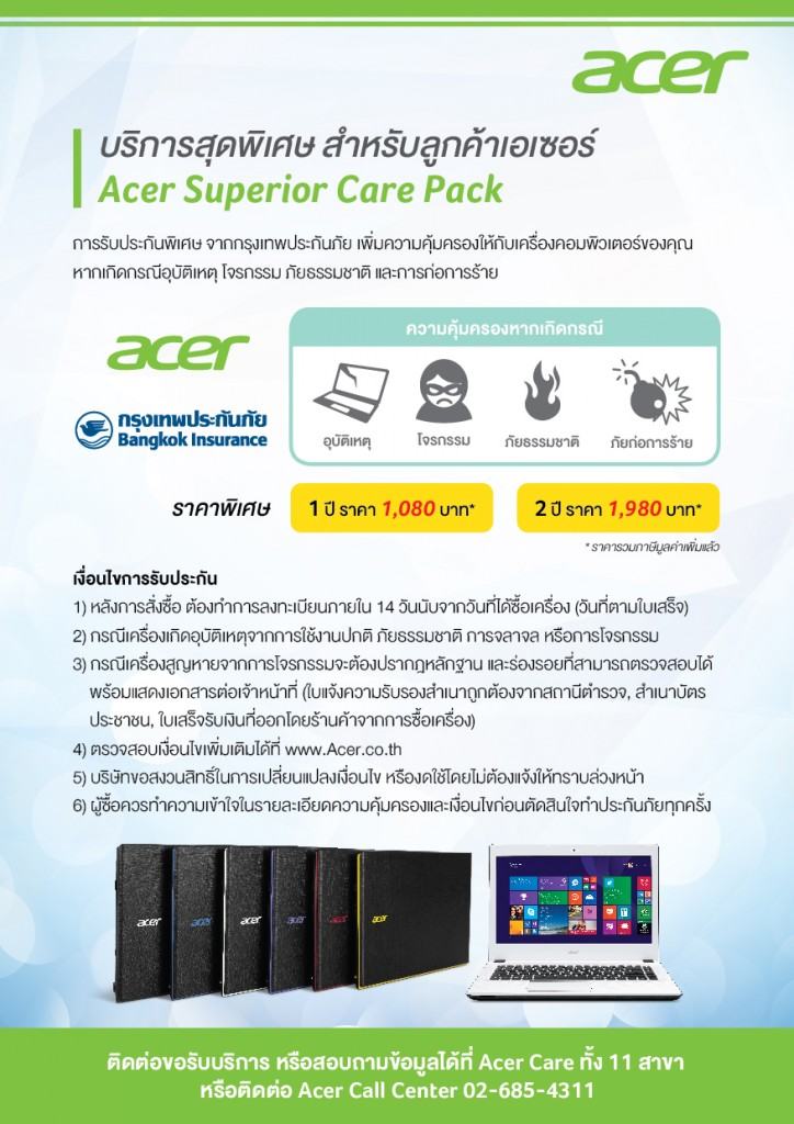 Acer Care Pack
