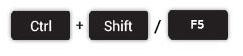 ctrl-shift-f5