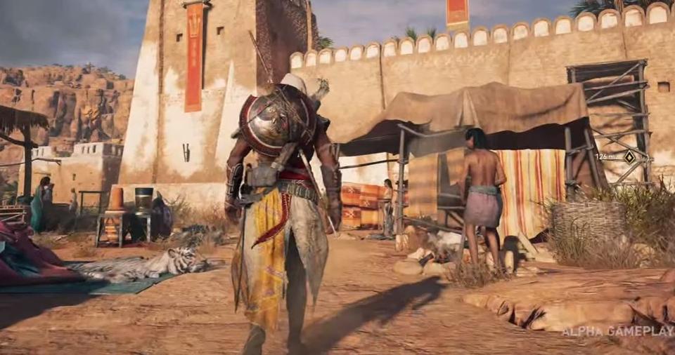 ตัวอย่างเกม Assassin's Creed Origins