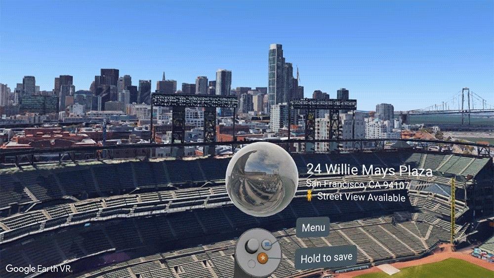 Google Street View VR